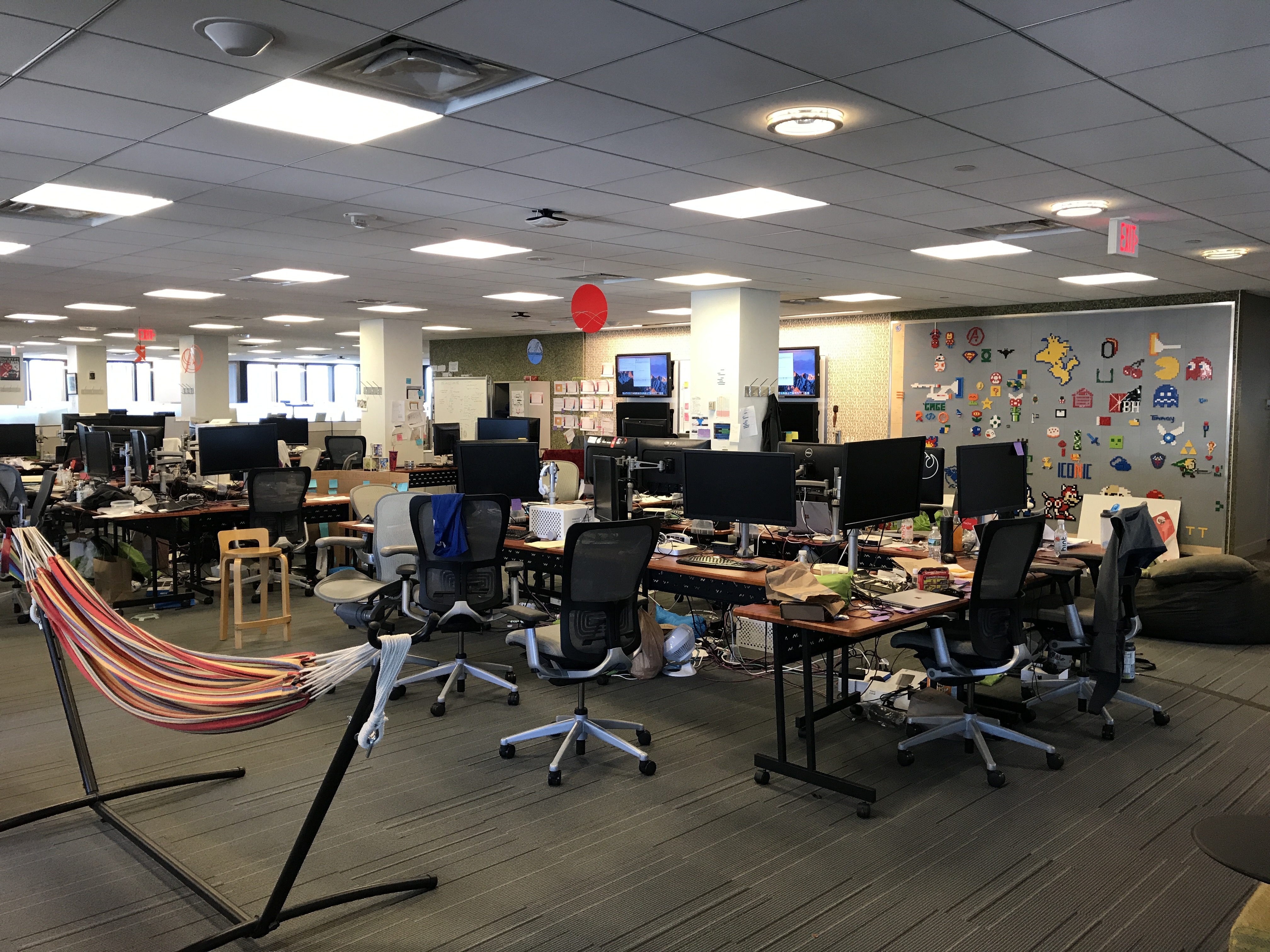 The Garage space at Microsoft New England's NERD.