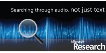 Microsoft's MAVIS audio and video indexing – now available on demand