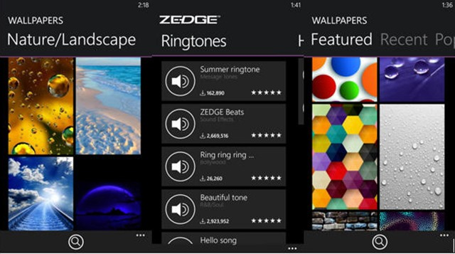 With Spring Beckoning Change Its A Perfect Time To Freshen Up Your Windows Phone Wallpapers And Ringtones New Free App From ZEDGE Whose Apps Are